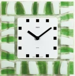 Nástěnné hodiny skleněné