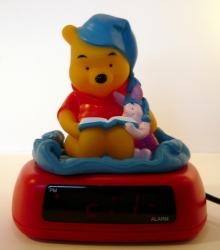 Budík digitální dětský Disney - Medvídek Pů