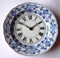 Nástěnné hodiny TALÍŘOVÉ - cibulák